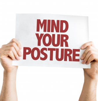 Good Posture To Minimize Your Chance of Injury