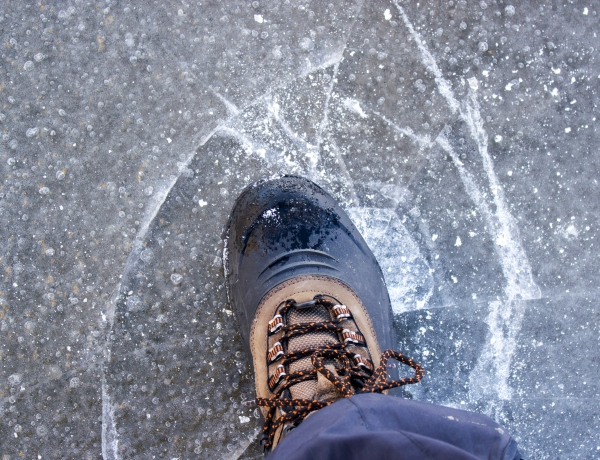 How To Avoid Slipping on Ice?