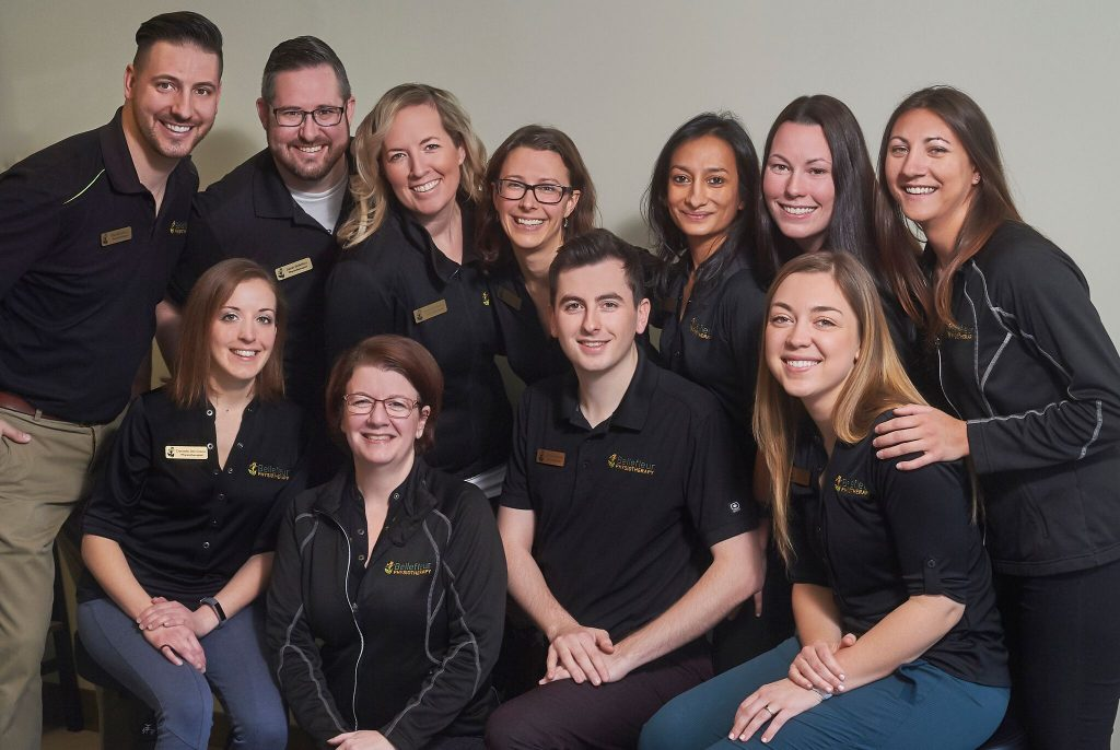 Bellefleur Physiotherapy team