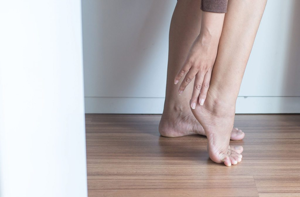 Dancer ankle pain